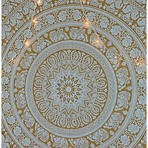 Gold Elephant Tapestry